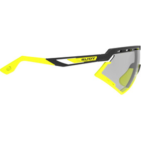 Rudy Project Defender Gafas, black matte/yellow fluo - impactx photochromic 2 laser black